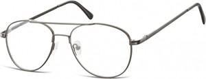 Sunoptic Okulary oprawki dziecięce zerówki Pilotki MK3-47A garfitowe