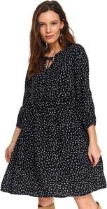 Sukienka Top Secret w stylu casual z długim rękawem koszulowa