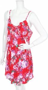 Czerwona sukienka Pour Moi? na ramiączkach w stylu casual mini