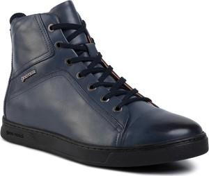 Gino Rossi Sneakersy MI08-C640-632-01 Granatowy