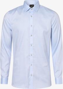 Niebieska koszula Olymp No. Six z długim rękawem