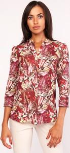 Koszula Lanti w stylu casual z długim rękawem bez kołnierzyka