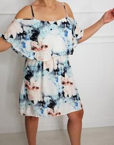 c535c64302e4a8 letnia sukienka w kwiaty - stylowo i modnie z Allani