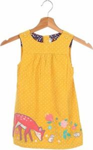 Żółta sukienka dziewczęca JoJo Maman Bébé