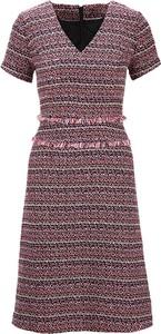 Różowa sukienka Heine z krótkim rękawem