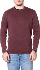 Czerwony sweter Only & Sons w stylu casual