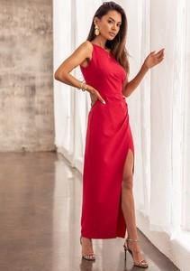 Czerwona sukienka Latika maxi