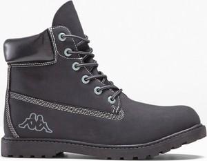Granatowe buty zimowe Kappa