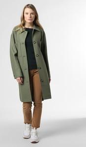 Zielony płaszcz Marc O'Polo z wełny w stylu casual