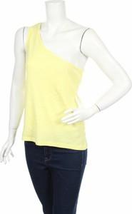 Żółty top Originals w stylu casual