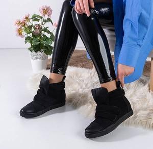Czarne buty sportowe Royalfashion.pl