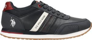 Czarne buty sportowe U.S. Polo sznurowane