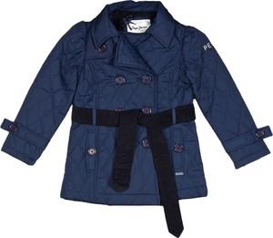 Kurtka dziecięca Pepe Jeans w paseczki z tkaniny
