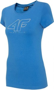 T-shirt 4F z okrągłym dekoltem z krótkim rękawem