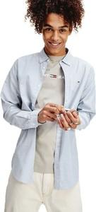 Koszula Tommy Hilfiger z bawełny z długim rękawem z klasycznym kołnierzykiem