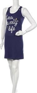 Sukienka Melissa Brown z okrągłym dekoltem w stylu casual