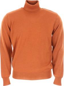 Pomarańczowy sweter Rossopuro