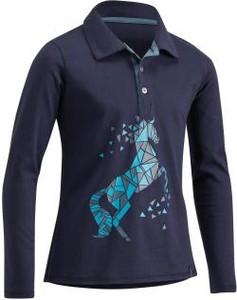 Niebieska koszulka dziecięca Fouganza