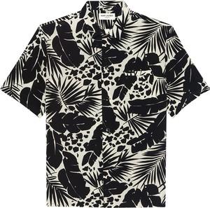 Koszulka polo SAINT LAURENT z bawełny w młodzieżowym stylu