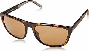 amazon.de Tommy Hilfiger Th 1602/G/S okulary przeciwsłoneczne męskie wielokolorowe (Dkhavana) 58
