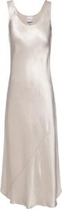 Sukienka MaxMara Leisure maxi bez rękawów z okrągłym dekoltem