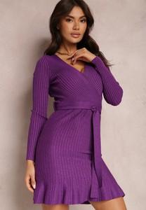 Fioletowa sukienka Renee