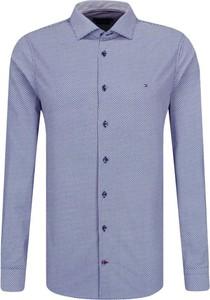 Niebieska koszula Tommy Hilfiger Tailored w stylu casual