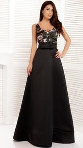 Czarna sukienka noshame bez rękawów
