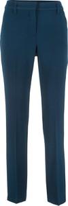 Niebieskie spodnie bonprix bpc bonprix collection