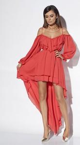Sukienka Lou Women`s Fashion maxi asymetryczna