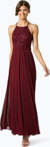 Czerwona sukienka Marie Lund maxi w stylu glamour
