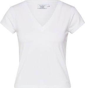 Bluzka NA-KD z krótkim rękawem z dżerseju