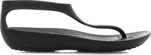 Czarne sandały Crocs