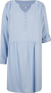 Sukienka bonprix w stylu casual z długim rękawem mini