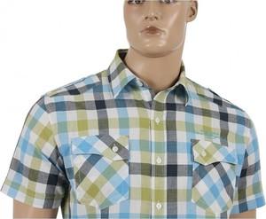 Koszula Clover z bawełny w stylu casual z krótkim rękawem