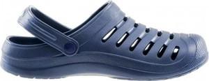 Niebieskie buty letnie męskie sklepiguana ze skóry