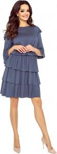 Sukienka Bergamo z długim rękawem mini