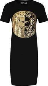 Sukienka Versace Jeans prosta z krótkim rękawem mini