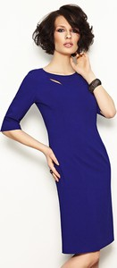 Sukienka sukienki.pl w stylu casual dopasowana midi