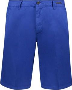 Niebieskie spodenki Paul & Shark z bawełny
