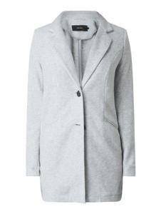 Miętowy płaszcz Vero Moda w stylu casual