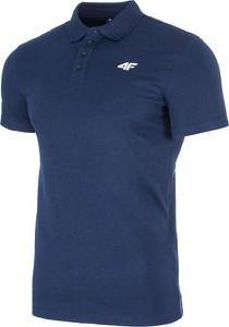 Koszulka polo 4F w stylu casual z krótkim rękawem
