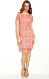 Różowa sukienka Zaps