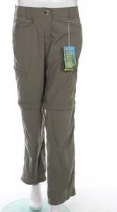 Zielone spodnie sportowe Exofficio w stylu retro