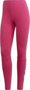 Różowe legginsy Adidas Performance