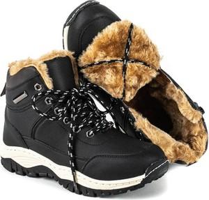 Czarne buty trekkingowe Royalfashion.pl