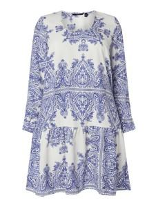 Sukienka Vero Moda Curve z długim rękawem z okrągłym dekoltem