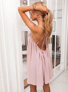 Sukienka SELFIEROOM z bawełny mini bez rękawów