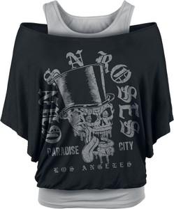 T-shirt Emp z nadrukiem z okrągłym dekoltem