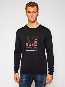 Sweter Karl Lagerfeld w młodzieżowym stylu